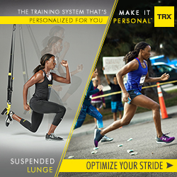 Make It Personal - TRX Training - Suspended Lunge