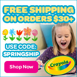 Free Shipping on $30+ Order with SPRINGSHIP