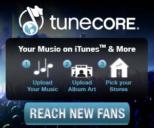 Tune Core Music and Video Distribution of Your Own Music!
