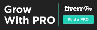 320x100 Fiverr Pro