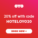 Book Now and Save 20% Off with Code HOTELOYO20 at OYO!