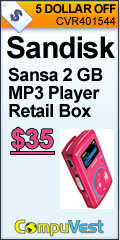 Sansa 2GB MP3 Player