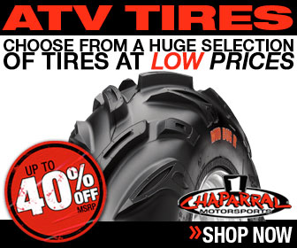 Save up to 40% 0ff MSRP On ATV Tires