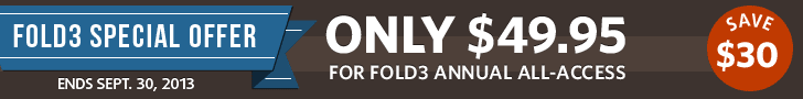 Special Offer for Fold3