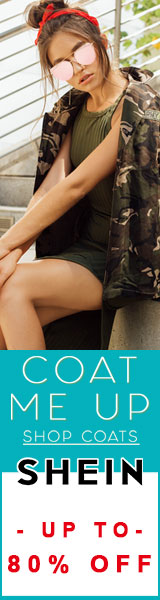 Coat me Up!  Shop Coats now and save up to 80% off at us.SheIn.com!  Ends 9/25