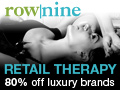RowNine - Luxury Private Sales at up to 80% off