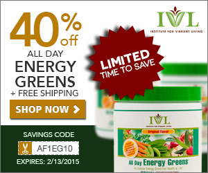 All Day Energy Greens 25% OFF