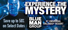 Blue Man Group in Orlando - Limited Time Offer Save 50% on Tickets!