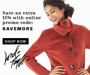 Shop Lord & Taylor and save an extra 15% on your purchase!* Use code: SAVEMORE. Valid 10/30-11/6.