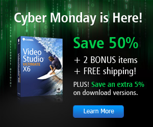 Corel VideoStudio Pro X6 Video Editing Software
