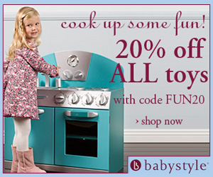 Save 20% on toys with code
