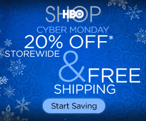 HBO Cyber Monday: 20% off & Free Ship, code CYBER