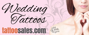 Wedding Temporary Tattoos!