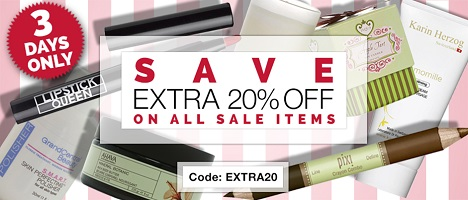 3 DAYS ONLY! Save An Extra 20% On All Sale Items & Get Free Shipping On Orders Over $49!