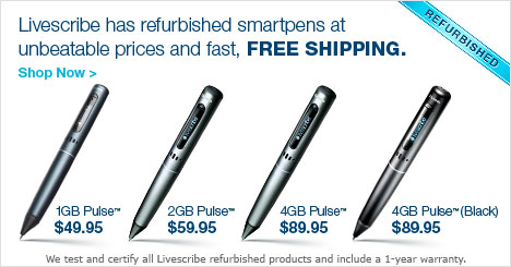 Livescribe Refurbished Smartpens