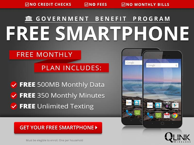Free Government Benefit Program+Free Smartphone
