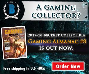 Beckett Collectibles Gaming Almanac #8 2017