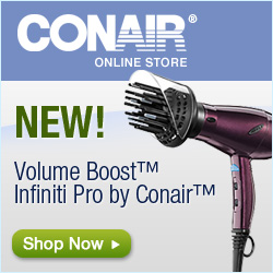 Hair Stylers and Hairdryers at The Conair® Online.