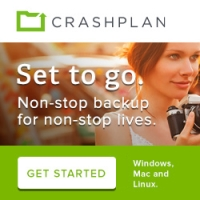 CrashPlan Continuous Backup