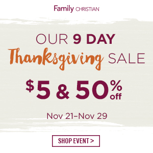 9 Day Thanksgiving Sale