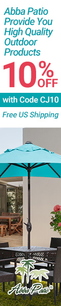 10% Off with Code CJ10! Abba Patio Provide You High Quality Outdoor Products! Free US Shipping!