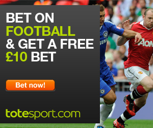 Bet now with totesport - £10 in free bets!