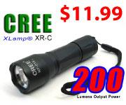 3-Watt LED Flashlight for $11.99