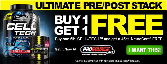 Buy CellTech Performance Series, Get NeuroCore FREE!