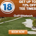 Book a tee time gift at Golf 18 Network!