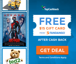 FREE After Rebate Movie Tickets