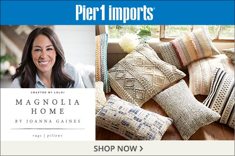 magnolia home rugs and pillows