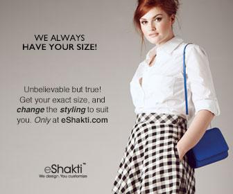 eShakti, women's apparel, custom clothing, fall clothes, dresses, skirts, tops, blouses