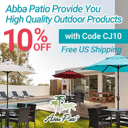 Abba Patio Provides You High Quality Outdoor Products! Free US Shipping!