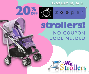 Take 20% Off All Zooper Strollers!