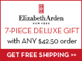Elizabeth Arden Coupon: Free 7-Piece Gift + Free Shipping with any $42.50+ order