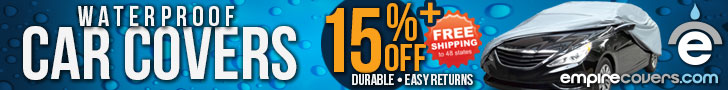EmpireCovers 15% Off Car Covers