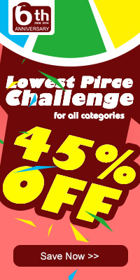 45% OFF Lowest Price Challenge