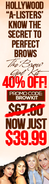 BrowGalShop.com Eyebrow Styling Kit Sale 40% Off Promo Code: BrowKit