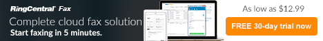 Go Green and Save with RingCentral Fax