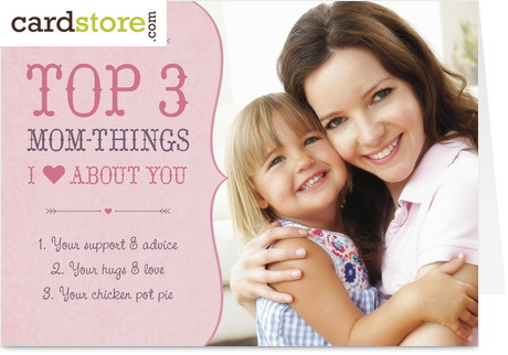 Personalized Mother's Day Photo Cards at Cardstore.com!