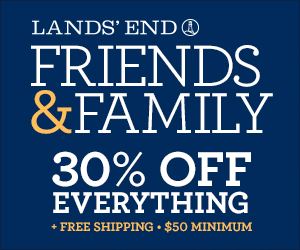 Lands' End Friends & Family