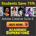 Buy Adobe Creative 6 at the Academic Superstore.