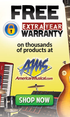 Free Extra Year Warranty - American Musical Supply