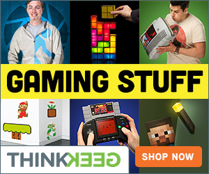 ThinkGeek Game On
