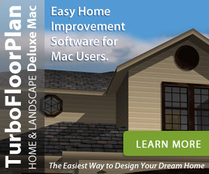 TurboFloorPlan 3D Deluxe Mac - the easiest way to design your dream home!