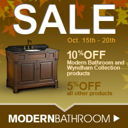 Save 5% to 10% at Modern Bathroom