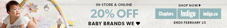 20% off Baby Brands We Love (ends Feb 25)