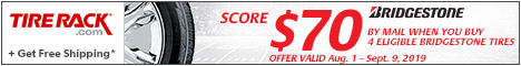 Bridgestone: Score $70 by Mail