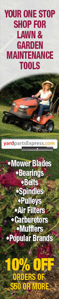 10% off Lawn and Garden Products w/ Min. Purchase