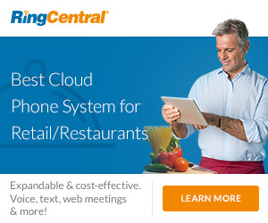 RingCentral Office - Best Cloud Phone System for Retail & Restaurant Industries.